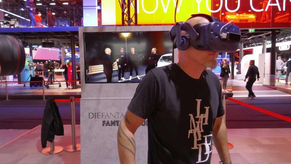 Der bekennende Gamer Thomas D der Fantastischen Vier trifft seine vier Kollegen inkl. seinem Alter Ego auf Fantaventura. Bild: Rizzo