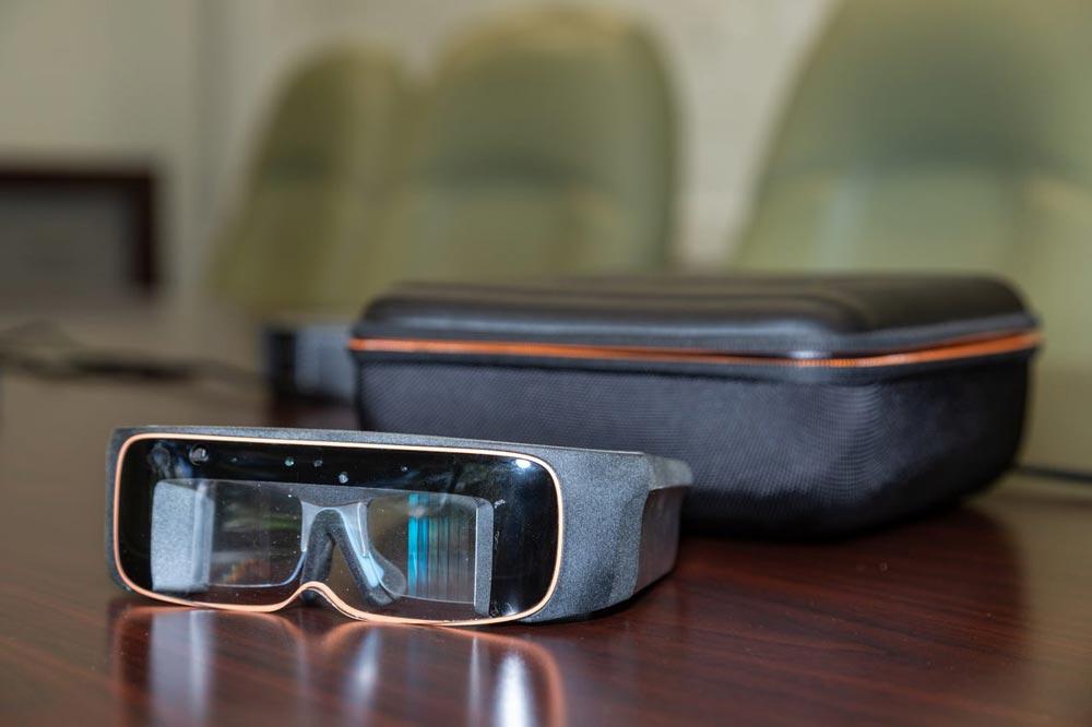Optisch hat X2 was von einer Retro-Sci-Fi-Brille. Bild: ThirdEye