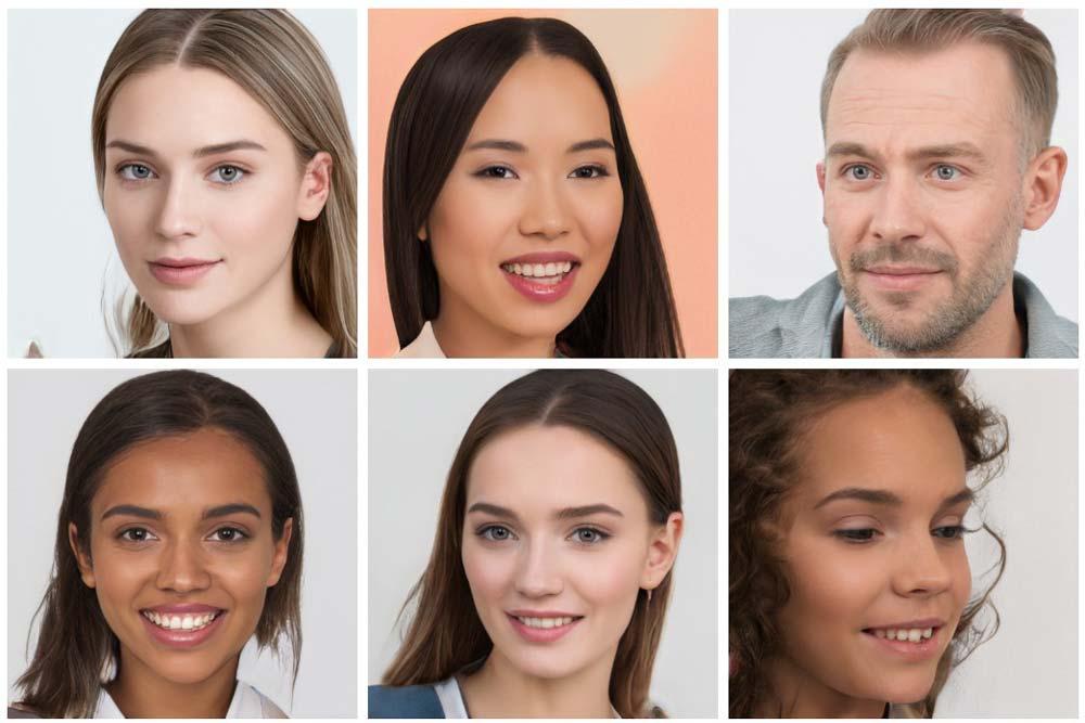 Fotos von Menschen, die gar nicht existieren, könnten die Werbe- und Modelindustrie auf den Kopf stellen. Und wahrscheinlich nicht nur die.