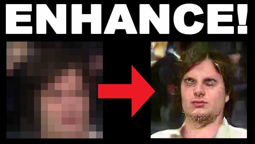 KI-gestützte Bildskalierung wurde bislang auf pixelige Retro-Computerspiele und -Videos angewandt, um sie mit geringem Aufwand ins HD-Zeitalter zu übertragen. Ein Twitter-Nutzer hat die Technik jetzt für verpixelte Videos menschlicher Gesichter eingesetzt.