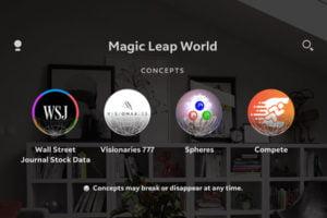 Wenn die AR-App für Magic Leap noch nicht fertig, aber schon interessant ist.