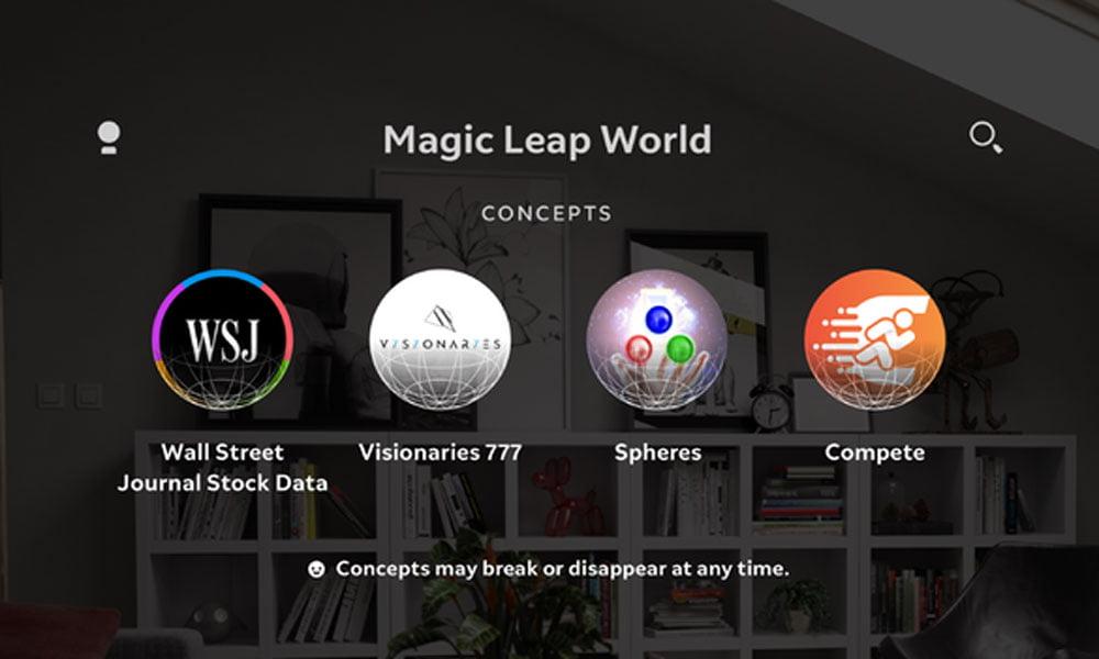 Magic Leap Concepts: Neue Kategorie für AR-Konzepte gestartet