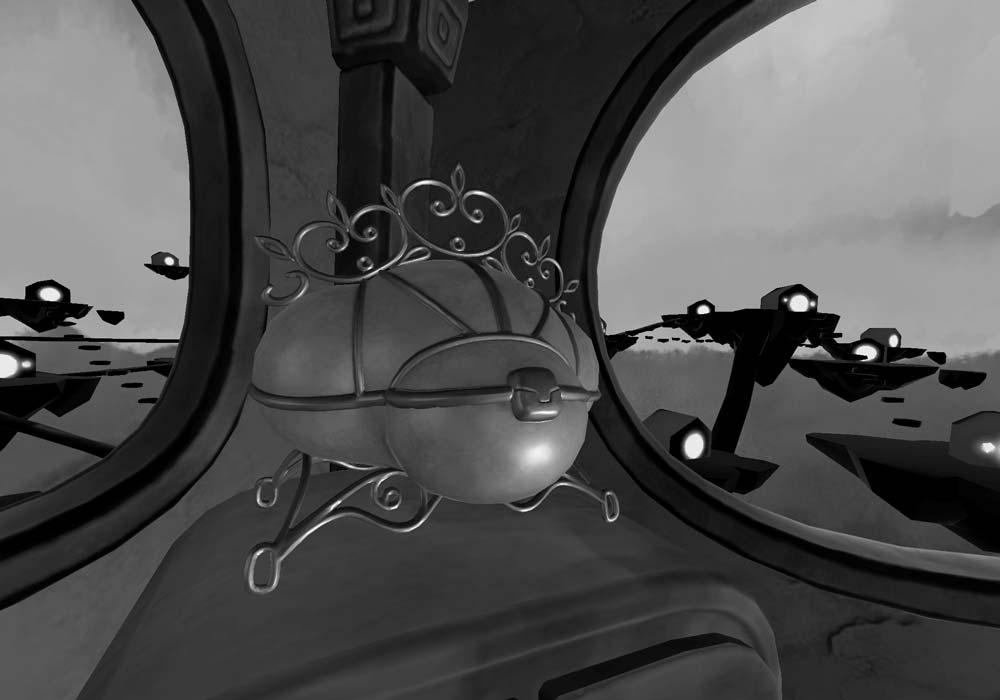 Manchmal wird die Welt von The Key schwarz-weiß ... Bild: Lucid Dreams Productions