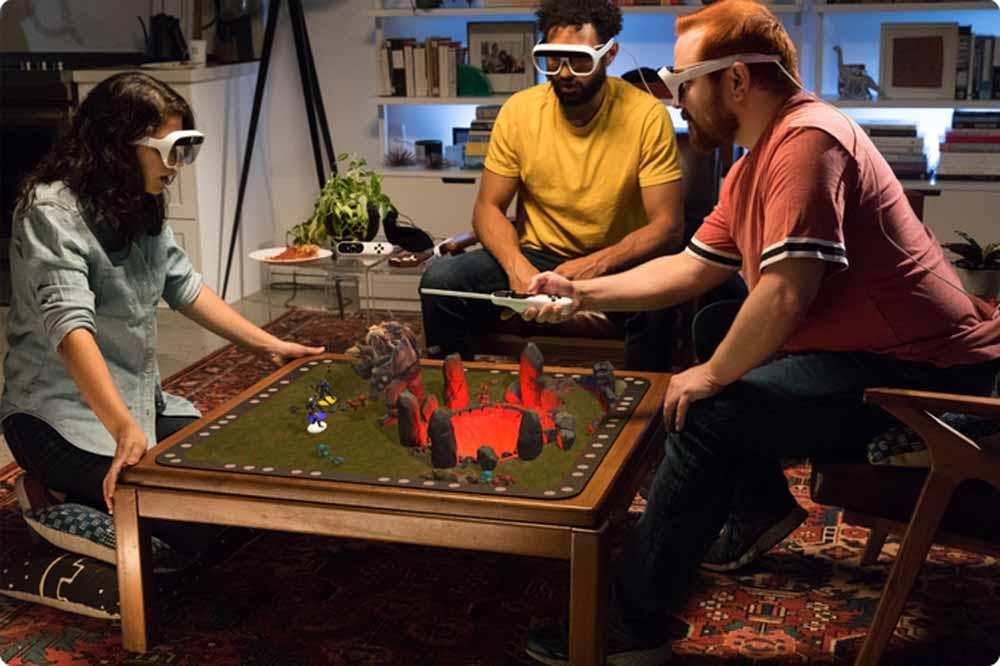 | tilt vive gaming ar brille