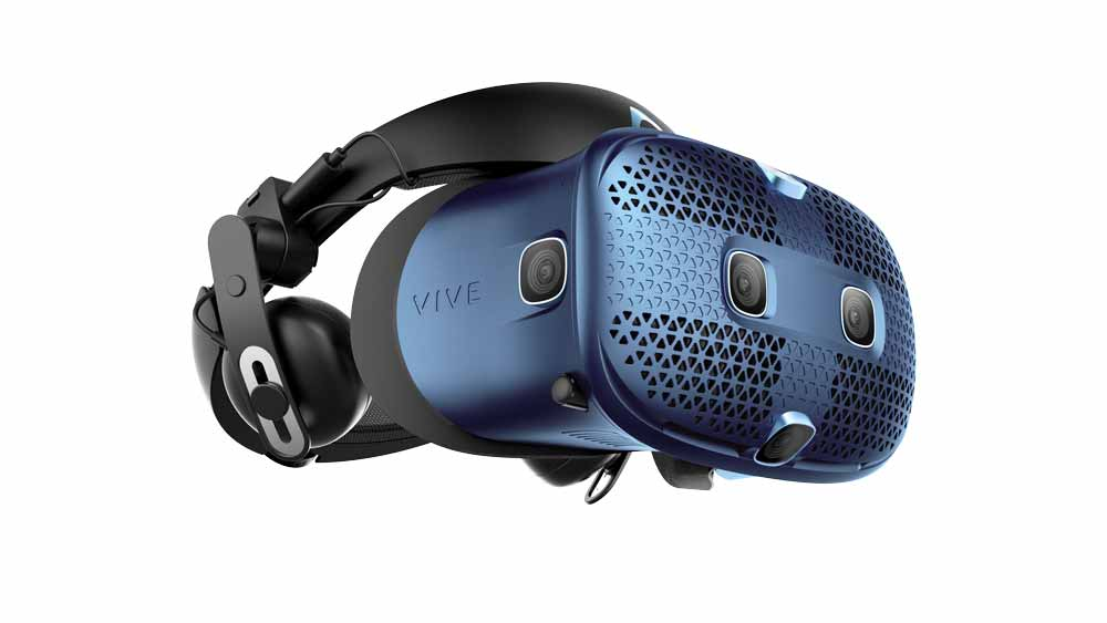 Insgesamt stecken sechs Trackingkameras in Vive Cosmos. Bild: HTC