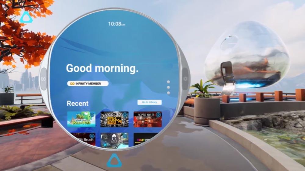 """HTCs neues VR-Betriebssystem """"Vive Reality System"""" soll zum Marktstart von Vive Cosmos ab Anfang Oktober verfügbar sein."""