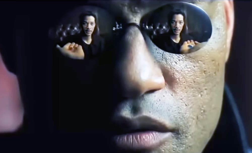 """Will Smith statt Keanu Reeves in """"Die Matrix""""? Eher nicht, oder? Ein Deepfake verschafft Gewissheit."""