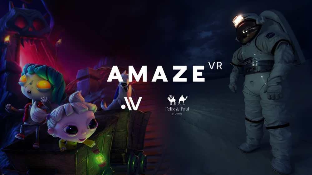 Die VR-Videoplattform Amaze konnte sich zwei namhafte VR-Filmstudios als Partner sichern. Für exklusive Inhalte wird man bezahlen müssen.