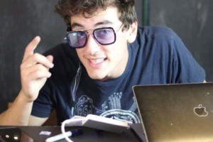 Der bekannte Youtube-Tüftler Jake Laser wollte Tony Starks EDITH-Datenbrille nachbauen. Den tollkühnen Versuch dokumentiert er auf Youtube.