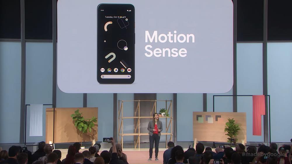 Aus Project Soli wird Motion Sense: Google stellte heute die Gestensteuerung für Pixel-4-Smartphones offiziell vor.