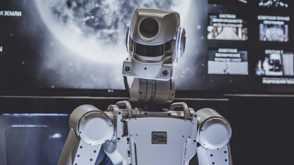 | Roboter weiß