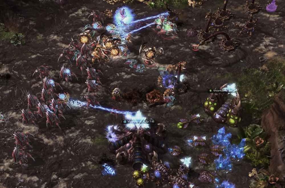 Deepminds Alphastar schlug mehrere Profispieler im Strategie-Titel Starcraft 2.