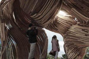 Die fünfte Ausgabe der Tallinn Architecture Biennale zeichnete ein Holzbauwerk aus, deren Konstruktion durch Hololens ermöglicht wurde.
