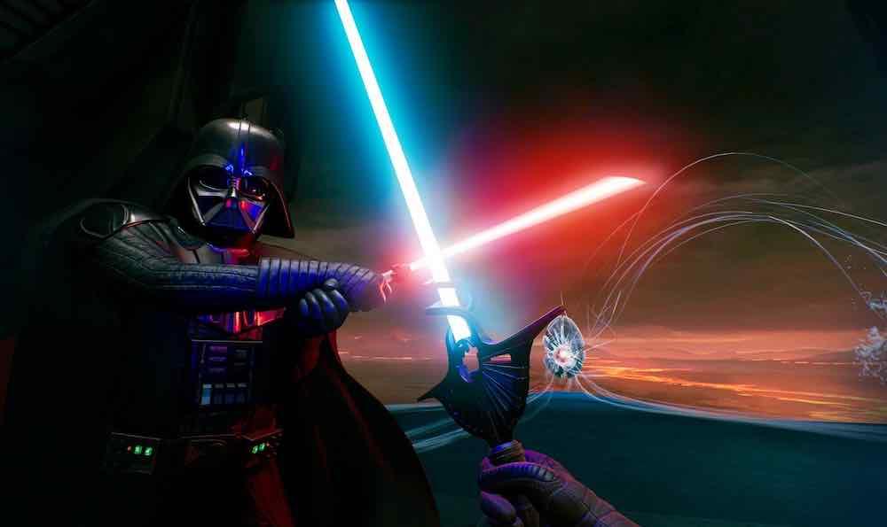 In der dritten und letzten Episode der filmischen VR-Erfahrung Vader Immortal kreuzt ihr die Lichtschwerter mit Darth höchstpersönlich.