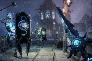 Witching Tower Test Skelettritter greifen an