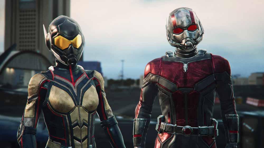 Unter anderem gibt sich Ant-Man die Ehre. Bild: Disney