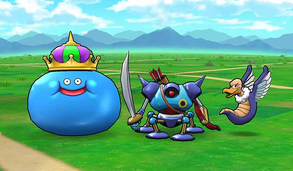Dragon Quest Walk macht Jagd auf Pokémon Go