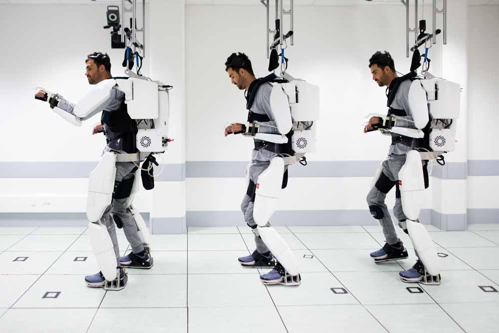 Das Gehirn sendet noch Signale, aber die Gliedmaßen reagieren nicht mehr: Kann ein Exoskelett ihre Arbeit übernehmen?
