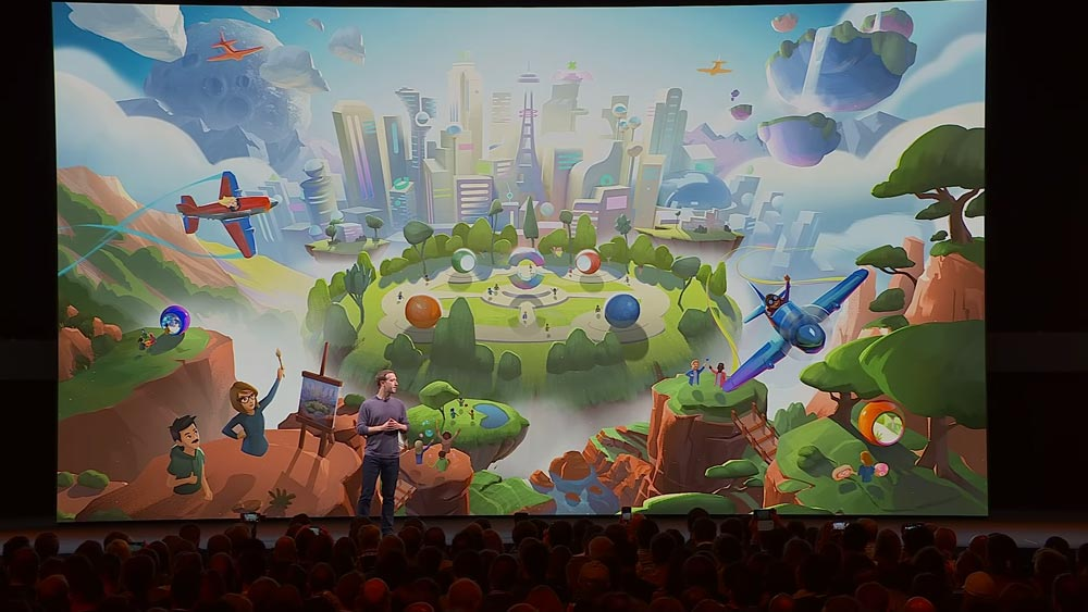 Mit Facebook Horizon bringt der Social-Konzern 2020 das erste eigene Virtual-Reality-Netzwerk an den Start. Bild: Facebook