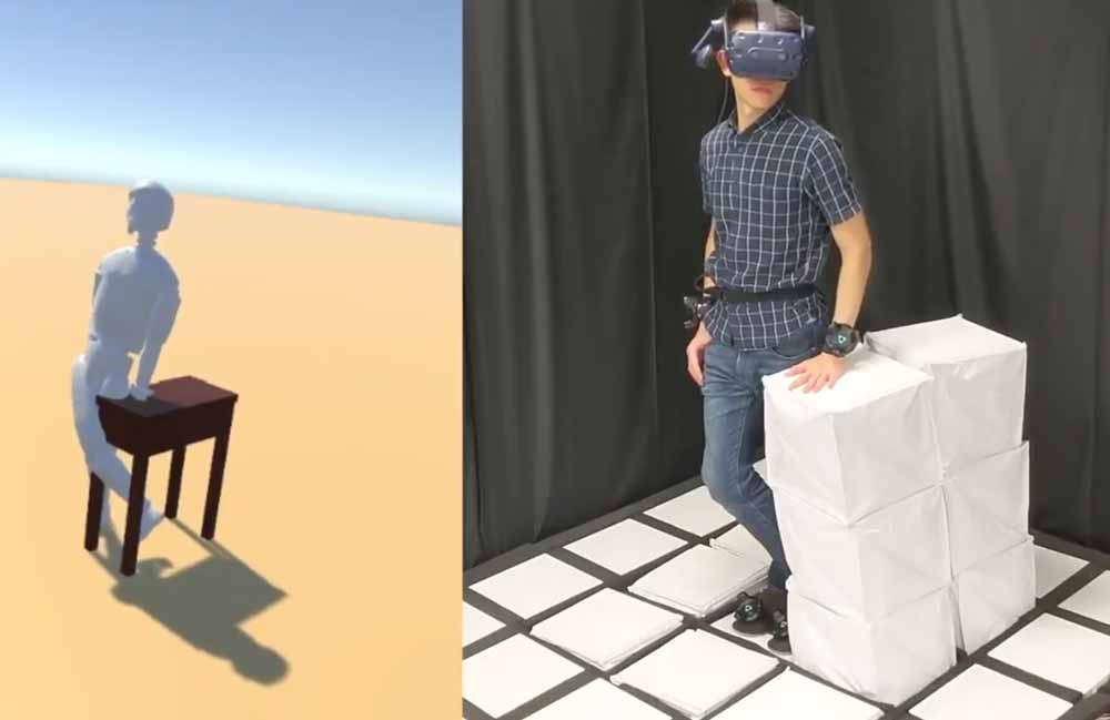 The Void Lite für zuhause: Diese VR-Umgebung bläst sich selbst auf.