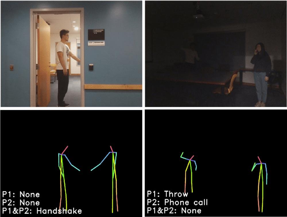Die KI kann Menschen durch Wände und in der Dunkelheit anhand von Radiowellen tracken. Bild: