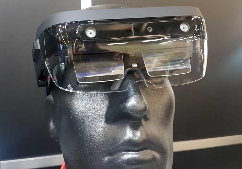 """AR-Brille """"A6"""" von Lenovo ausprobiert"""