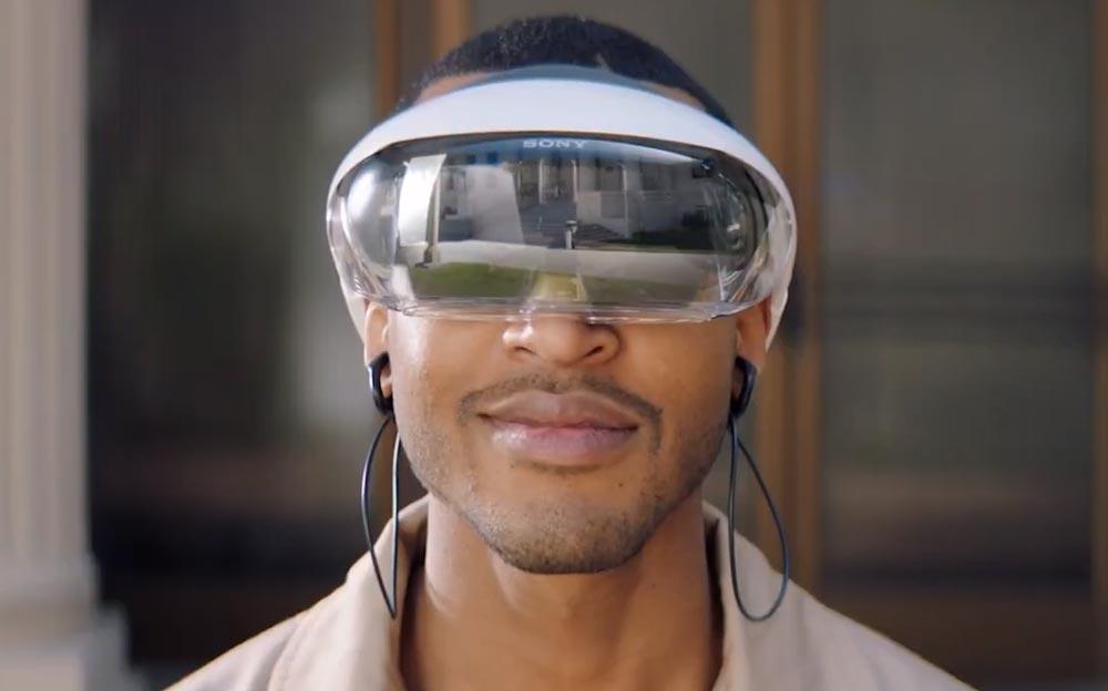 So sieht Sonys erste Augmented-Reality-Brille aus