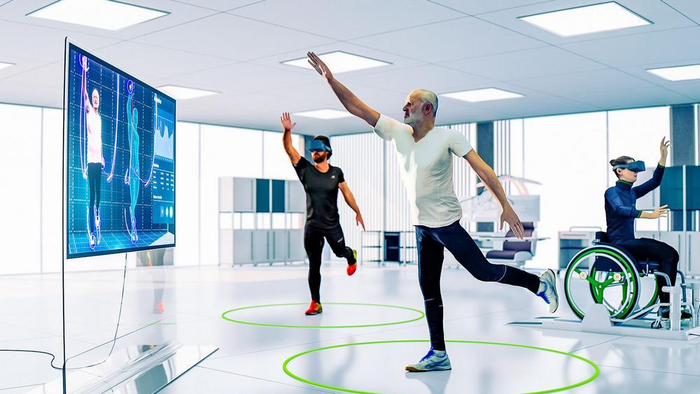 Therapieumgebung CUREosity mit VR-Unterstützung