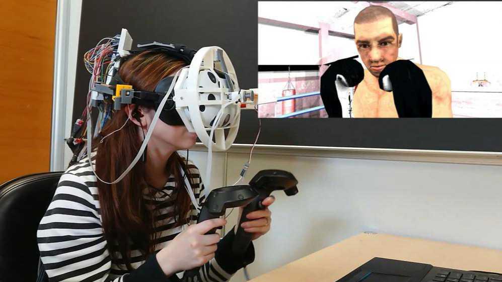 ElastImpact in die Fresse VR Haptik 2