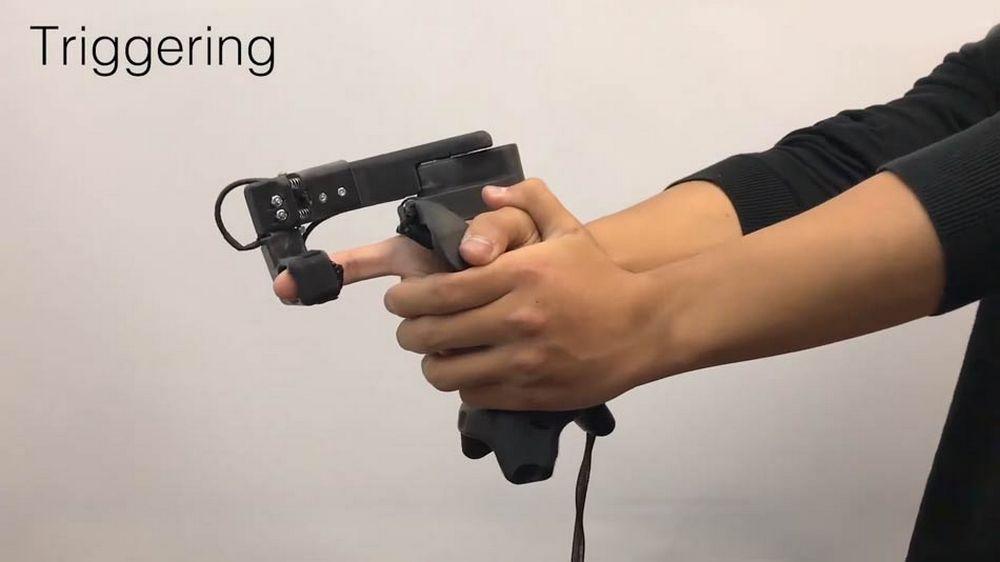 CLAW Controller für VR von Microsoft