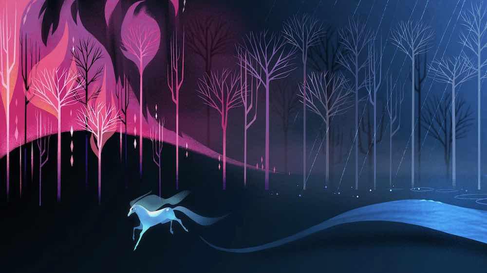 """Disneys """"Myth: A Frozen Tale"""" ist ein VR-Spinoff der Animationsfilms """"Die Eiskönigin 2"""" ."""