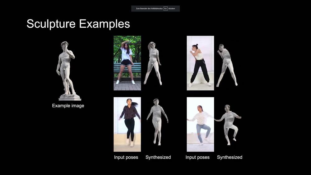 Tanzende Statuen, künstliche Straßen: Nvidia stellt KI-Multitalent vor