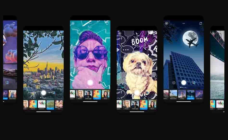 """Mit """"Photoshop Camera"""" für iOS und Android will Adobe zeigen, wie Künstliche Intelligenz die Bildbearbeitung revolutionieren kann."""