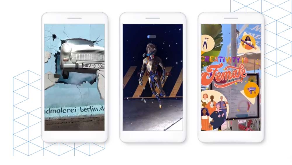 Mit der Desktop-Software Spark AR Studio will Facebook die Entwicklung von Augmented-Reality-Filtern vereinfachen. Jetzt gibt es zwei neue Effekte.