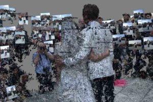 Hochzeits-Hologramm: Dieses Paar spaziert in der eigenen Erinnerung
