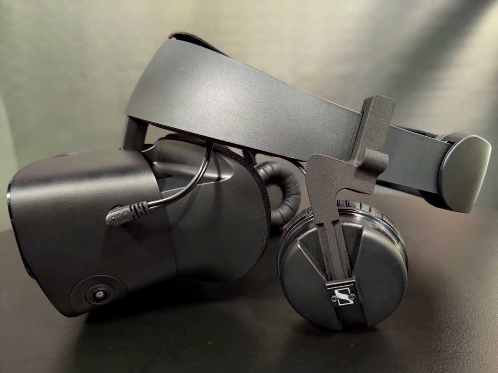 Better sound for Oculus Rift S and Oculus Quest.