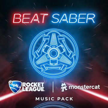 Rocket-League-Songs erscheinen in der Lichtsäbelversion für Beat Saber. Bild: Beat Games