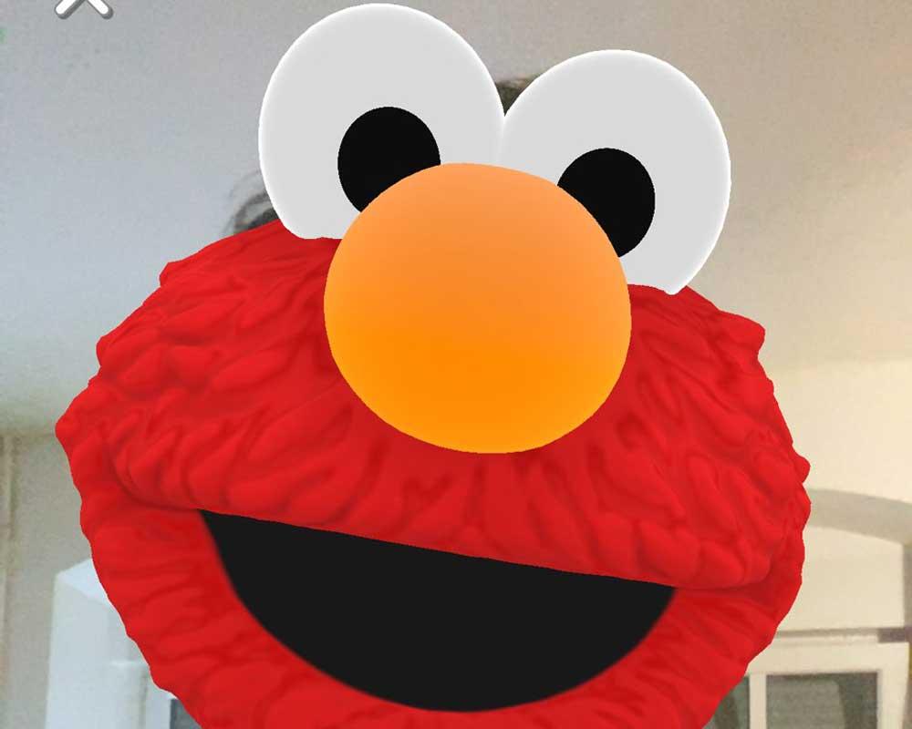 Well, hello there, Elmo. Bild: MIXED