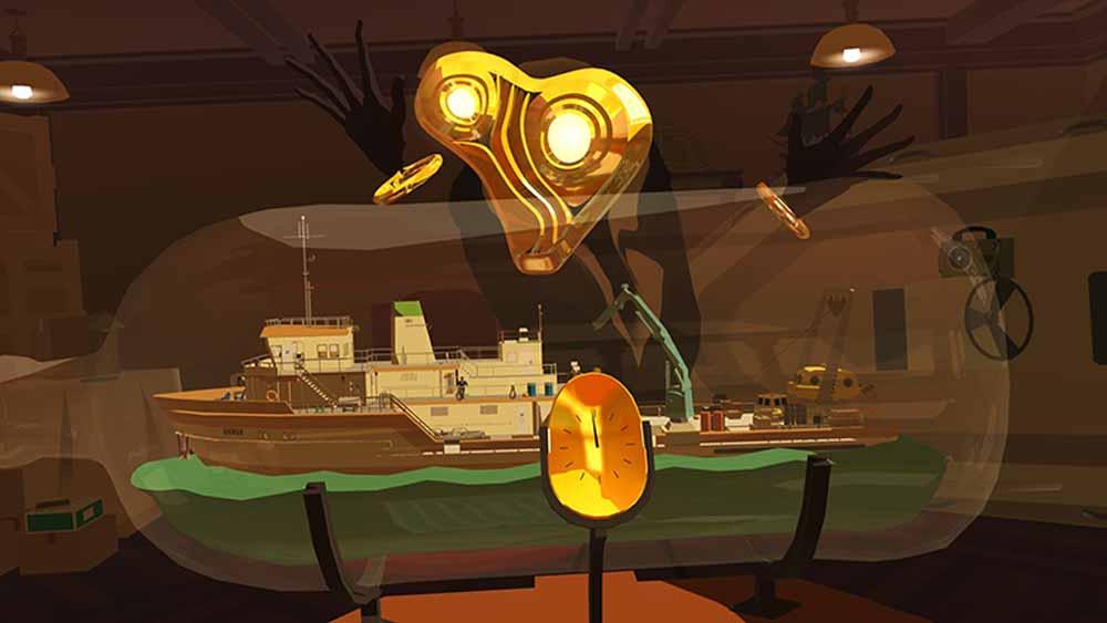 Zeit, Schiffe und maskierte Wesen spielen eine entscheidende Rolle. Bild: Tender Claws