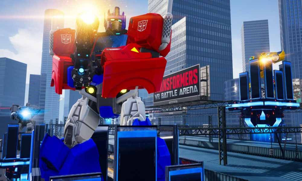| transformers vr battle arena screenshot