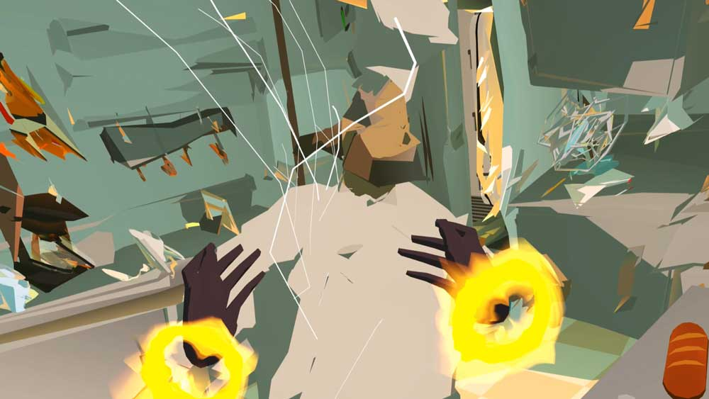 Die eigenen Hände spielen in The Under Presents eine entscheidende Rolle. Bild: Tender Claws