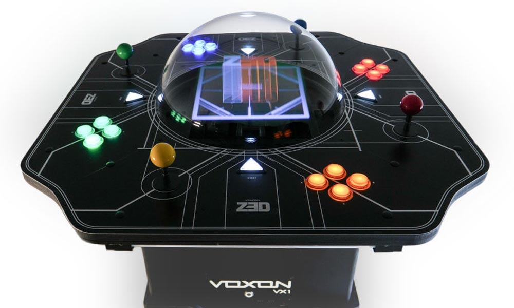 Dieser Gaming-Tisch will mit einem Hologramm-Display punkten