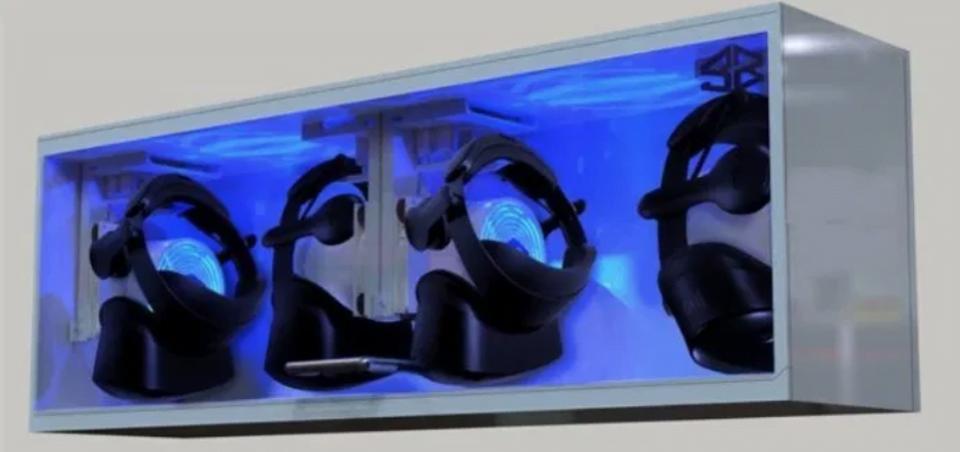 Cleanbox VR Geräte Reinigung
