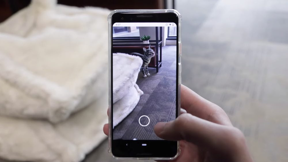 Google veröffentlicht eine neue Schnittstelle für seine AR-Software ARCore.