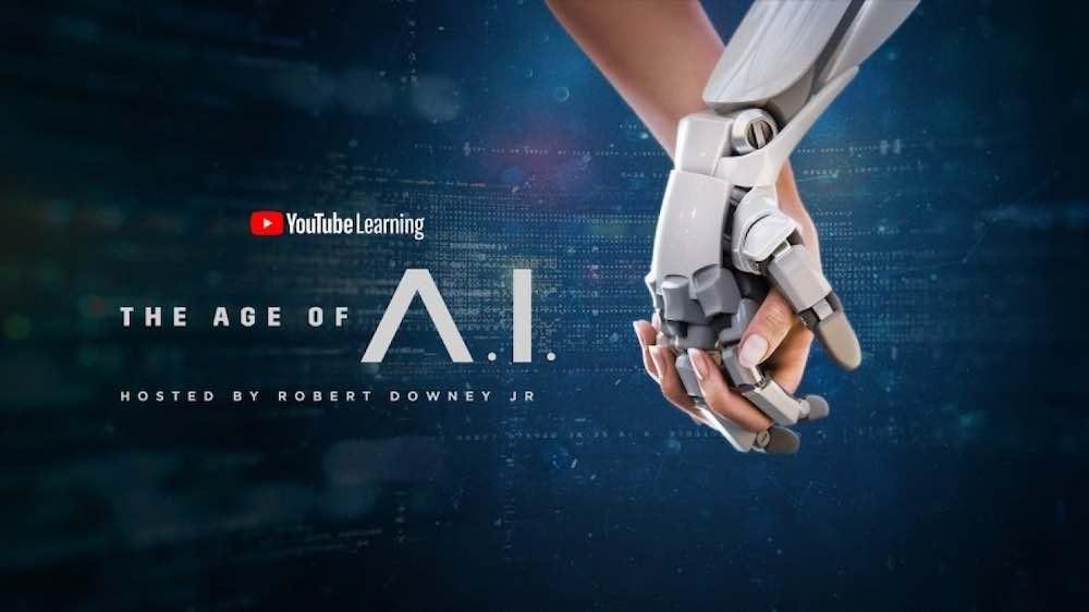 """Moderiert wird """"The Age of A.I."""" passend von Iron-Man-Darsteller Robert Downey Jr."""
