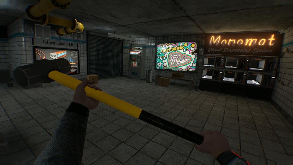 Rechts im Bild ist eine Tauschstation zu sehen. Dort könnt ihr gegen Munition Waffen erwerben. Bild: Steam.