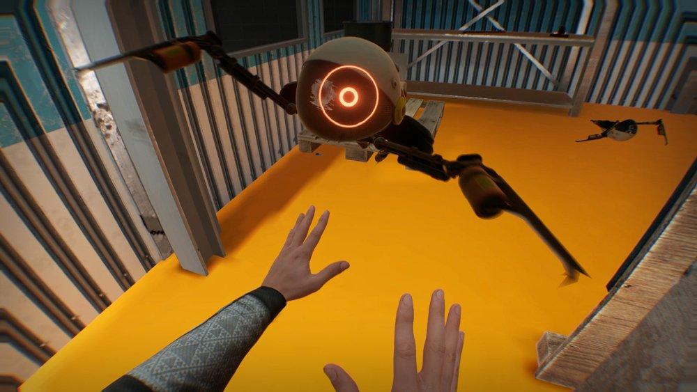 Wer hier nicht an Half-Life denkt, hat kein Half-Life gespielt. Oder zu oft Alien geschaut. Bild: Steam.