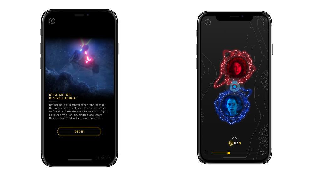 Bose AR Star Wars App