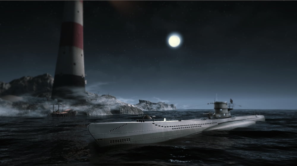 In der Hologate-Erfahrung Das Boot VR schlüpfen vier Spieler in missionskritische Rollen.
