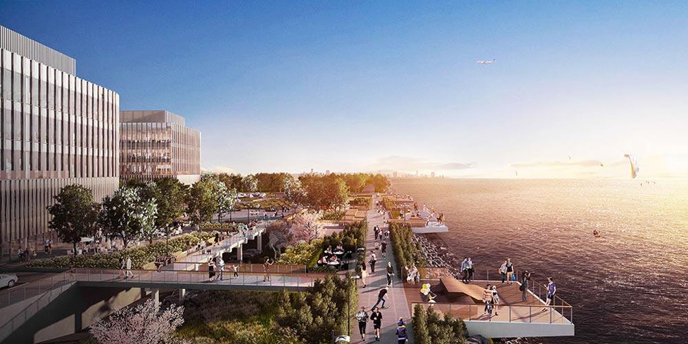 So stellt sich Facebook den neuen XR-Campus vor, der 2020 starten soll. Bild: Facebook